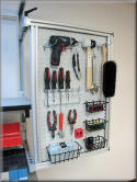 Articulating Tool Peg Board