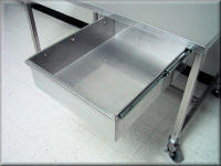 Stainless Steel Drawer - Stainles Steel Lab Table