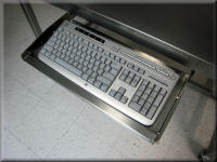 Stainless Steel Keyboard Tray