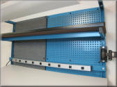 Combination Peg Board & Tack Board