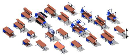 Common Industrial WorkBenches Styles