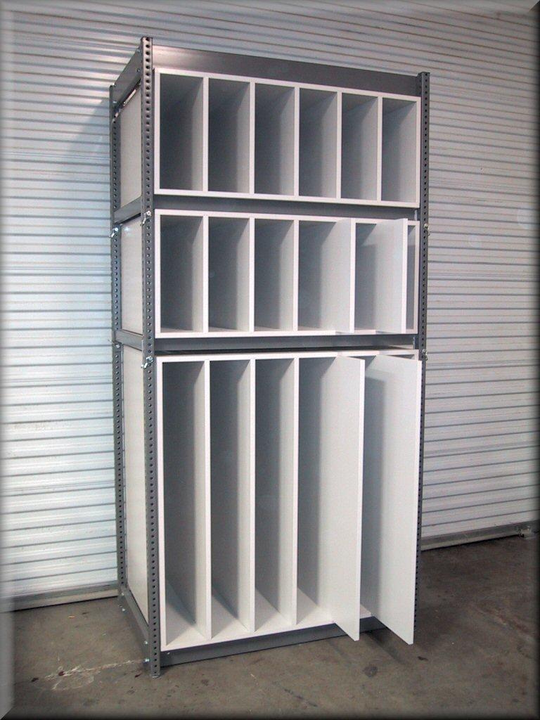 Metal shelves unit : Adjustable metal shelving units