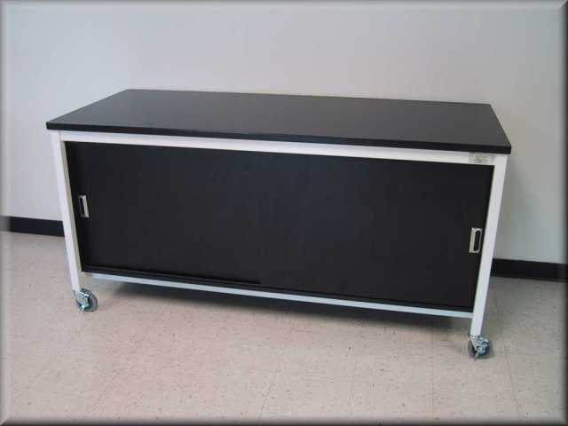 metal storage cabinets on wheels 2