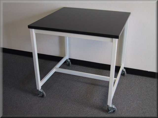 Flat Table With Weled Metal Frame Steel