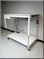 Adjustable Height Utiltiy Cart