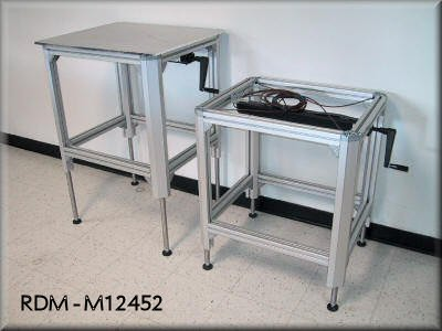 Rdm Aluminum Extrusion Tables With Adjustable Height