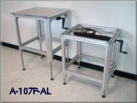Aluminum Frame Table with Hydraulic Lift system - Elevating Tables