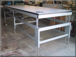 Large Lift Table with Dual Stage Lift