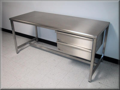 Four Major Advantages Of Steel Work Benches IndustrialFurnitureBlog - Stainless steel work table with drawers