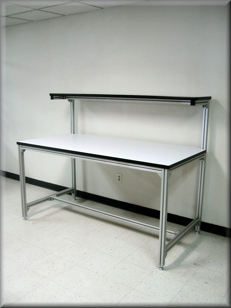 Extruded Aluminum Computer Desk Hostgarcia