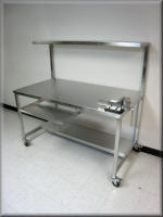 Stainless Steel Tech Table