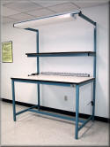 Workbench with Overhead Task Light - Model F-103PDL
