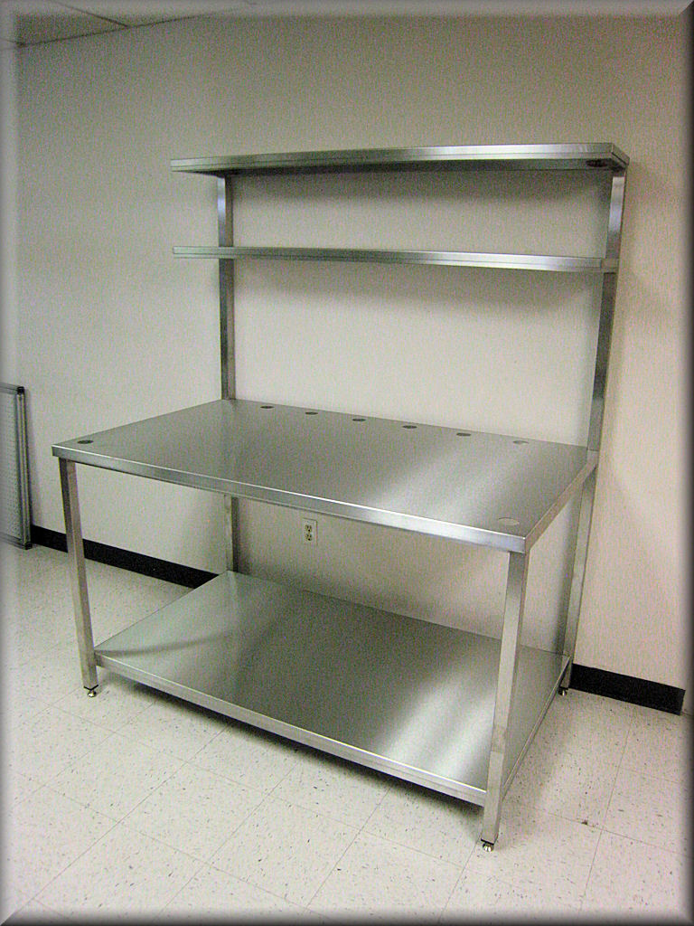 Rdm Stainless Steel Workbench F 103pl Ds Ss Tech Table