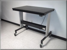 Ergonomic Lift Table with Added Leg Height