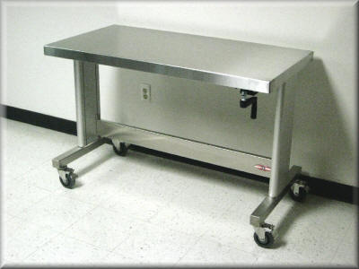 4 foot stainless steel table 1