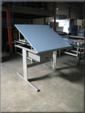 Ergonomic Lift Table with Tilting Top