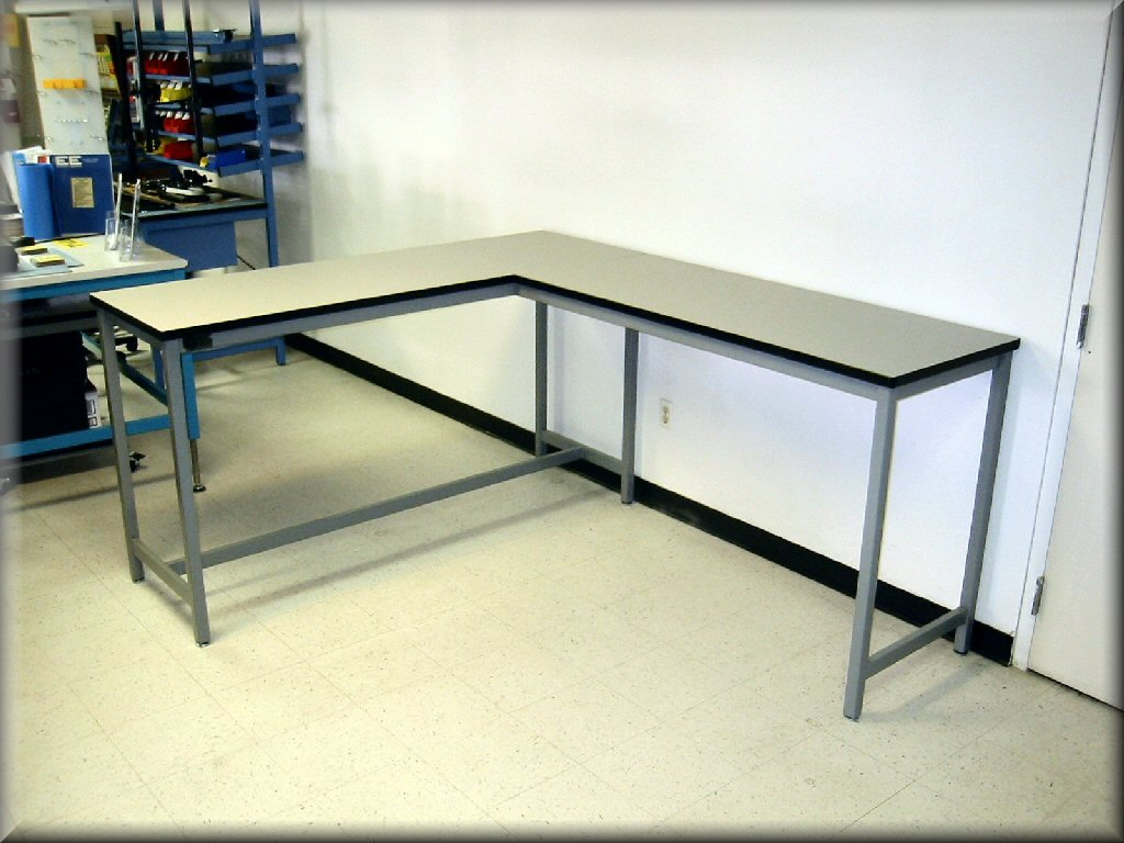 L Shaped Tables At RDM Industrial Products LA 109P