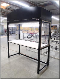 Six Foot Wide Vertical Laminar Flow Workstation