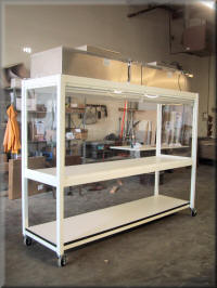 Eight Foot Wide Vertical Laminar Flow Workstation
