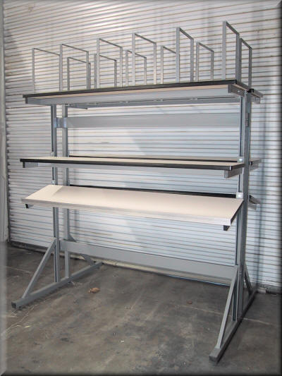 Double Sided Packaging Table