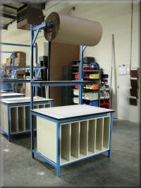 Packaging tables at rdm commercial packaging shipping for Table th fixed