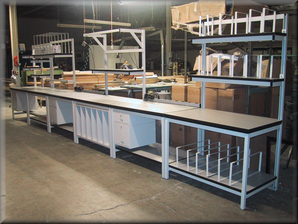 Packaging Tables At RDM Commercial Shipping