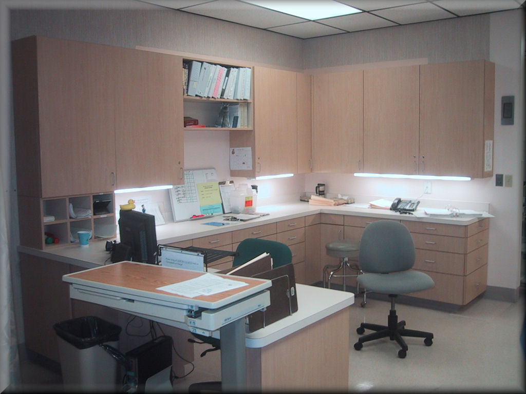 European Style Laminated Office Cabinets