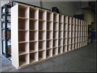Open Storage Shelving