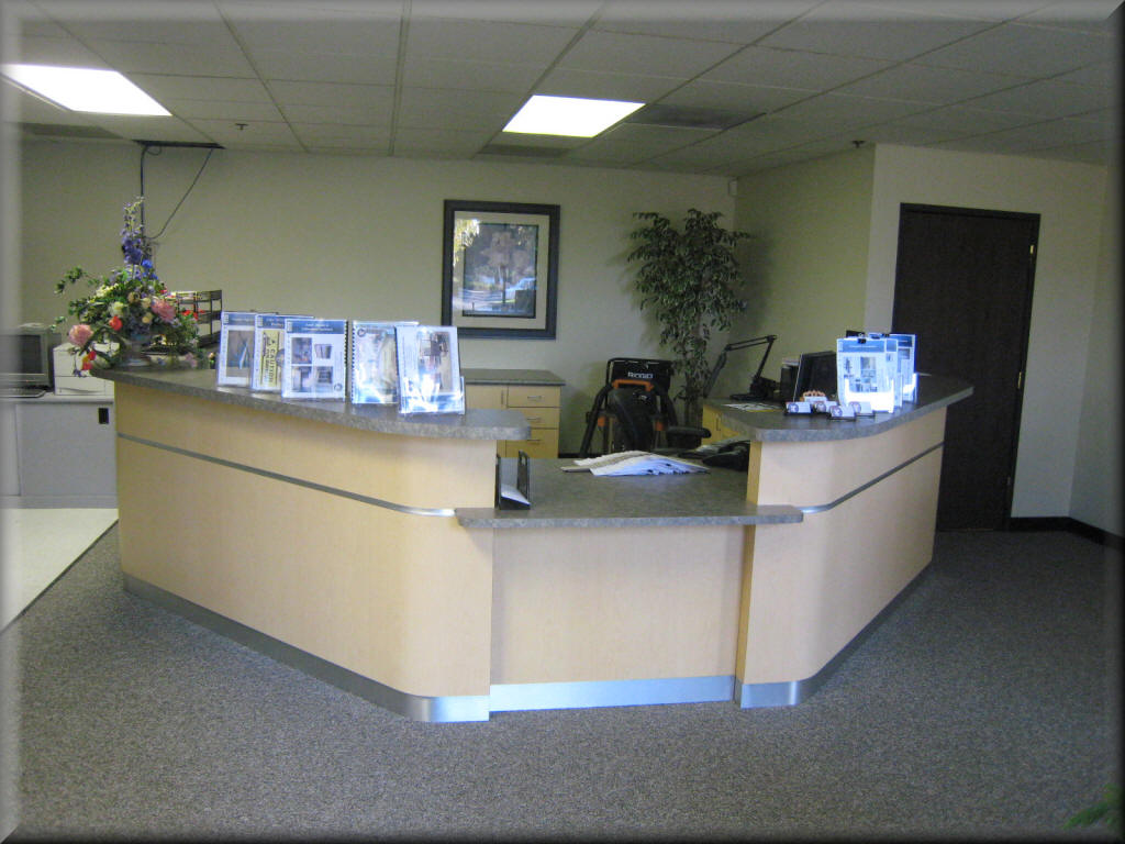 Reception Counter, Service Counters - RDM Industrial Products