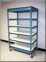 ESD Shelving Cart