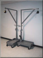 Heavy Duty Mobile Boom Cart