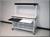 Computer Workstation Cart