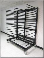 Horizontal Panel Rack Cart