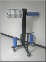 Industrial Roll Dispensing Carts