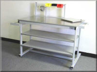 Heavy Duty Packaging Table