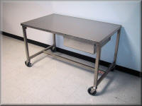 Adjustable Height Stainless Steel Carts Amp Tables Rdm