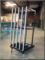 Vertical Panel Storage Cart