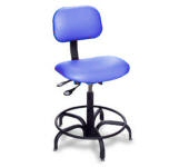 1P-CR Series Economy Cleanroom Ergonomic Chair