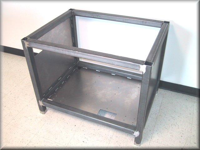 custom metal equipment stand 7