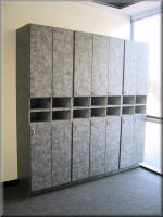 Custom Laminated Lockers