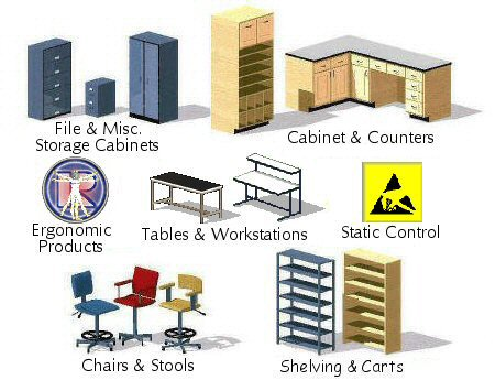 Lab Furniture Manufacturers - Click on Item of Interest...
