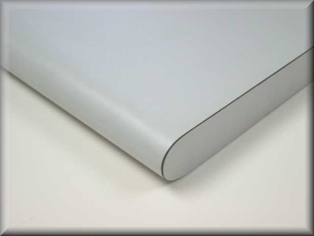 Laminated 180-Degree Rolled Front Edge