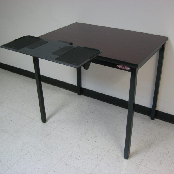 Economy Workbench A-109PE-01-BlackFrameBlackTopArtKB