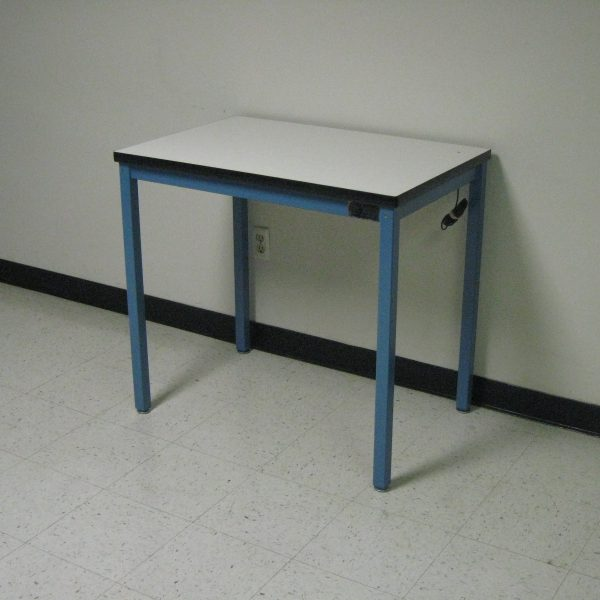 Economy Workbench A-109PE-01-BlueFrameWhiteTop