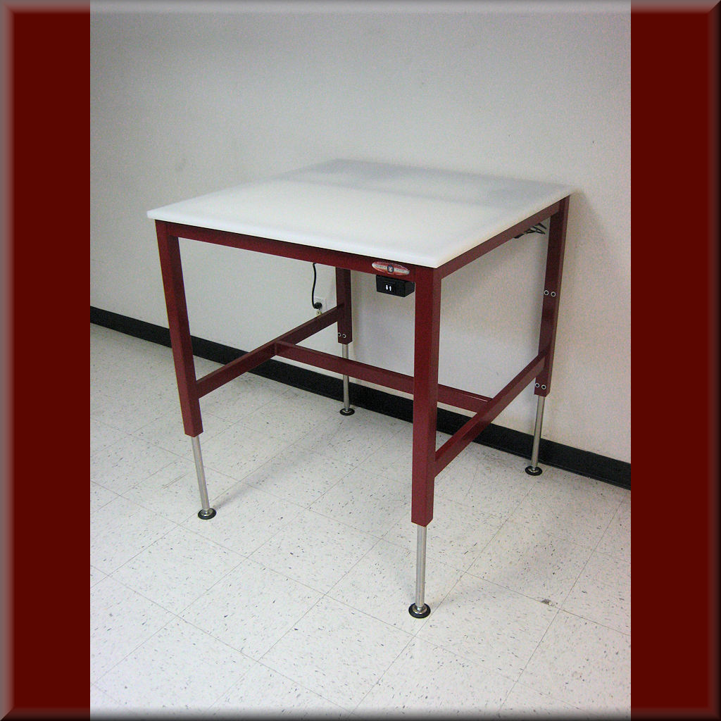 Table Model A-107P – Hydraulic Flat Top Lift Table