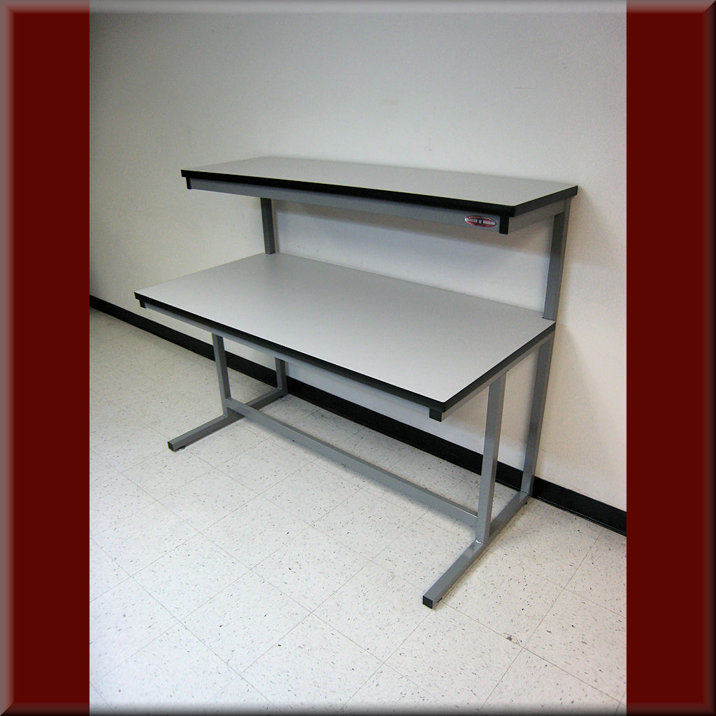 Table Model C-103P – C-Frame Tech Workbench with Recessed Front Legs