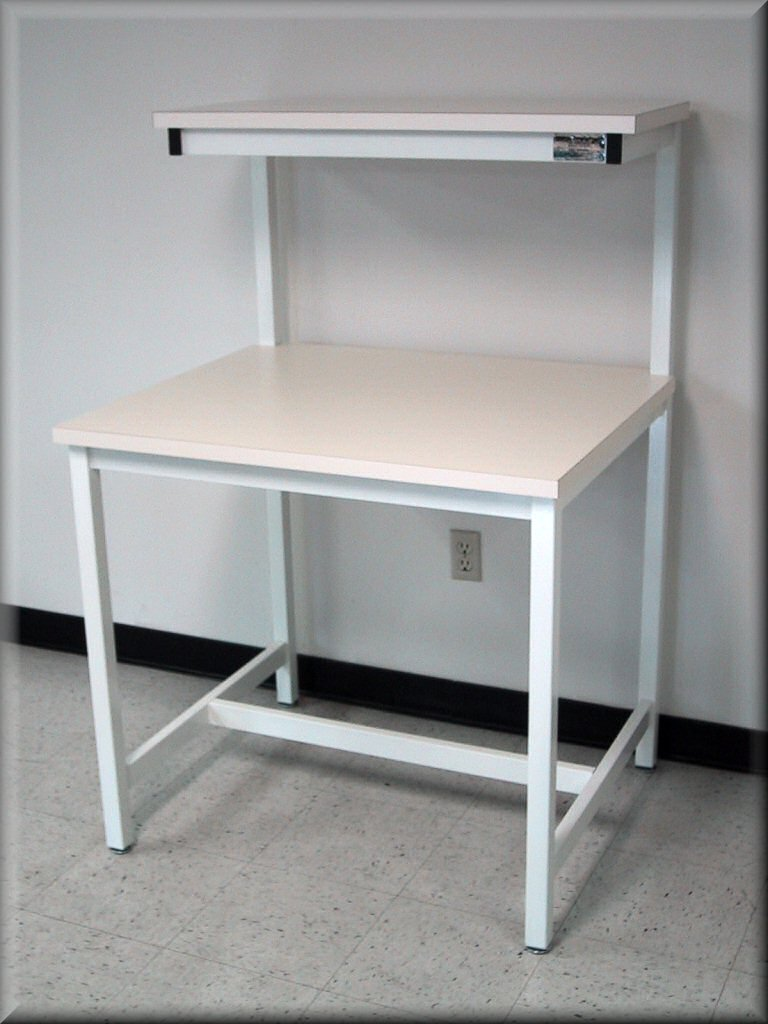 Peachy Rdm Workbench F 103P Tech Style Workbench With Upper Shelf Machost Co Dining Chair Design Ideas Machostcouk
