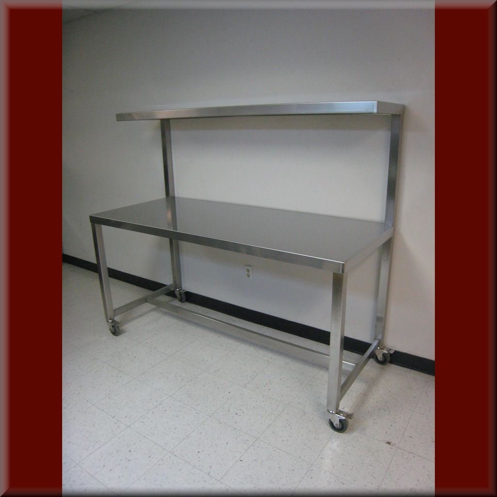Table Model F-103P-SS – Stainless Steel Tech Workbench