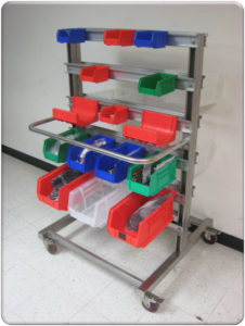 RDM Storage Bin Carts