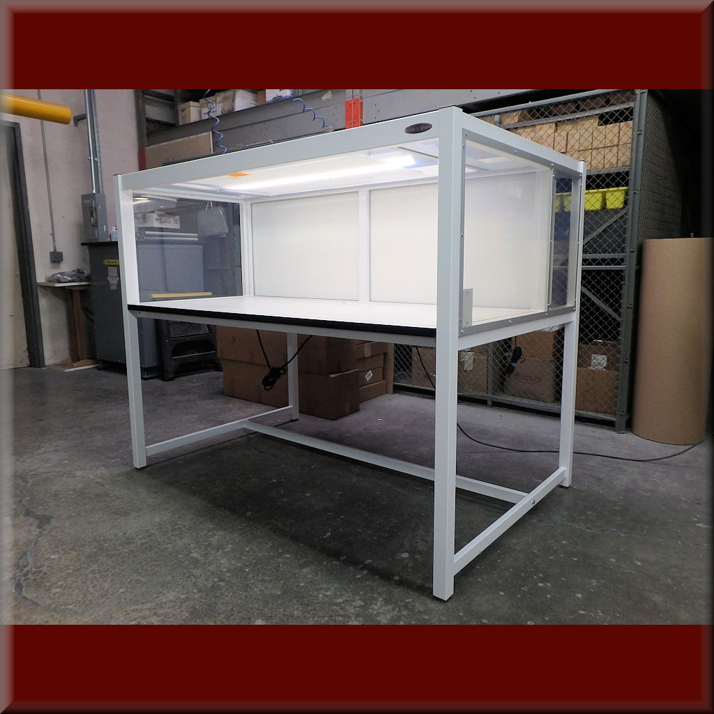 Table Model LFH-102PE – Economy Horizontal Laminar Flow HEPA Workstations